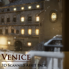 Our first Venice /Northern Italy Asset Pack with 3D-Scanned Content is ready to hit the Marketplace. If you need to create a scenario set in Italy or Venice, it will never have been easier than with this pack.