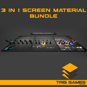 Advanced Screen Material Bundle  / AI SOURCES