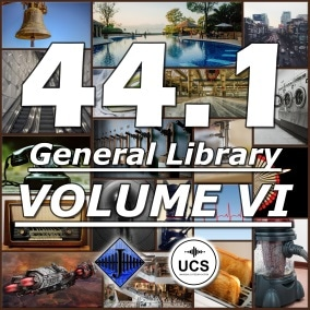 A general SFX library with 1,000 sound effects!