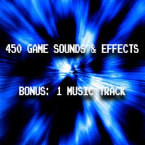 A total of 450 game sounds and effects plus 1 loopable music track as a bonus