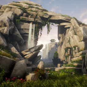 This asset pack contains 45 detailed stylized rock assets to be used in your environments.