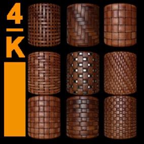 4K PBR Bamboo Material