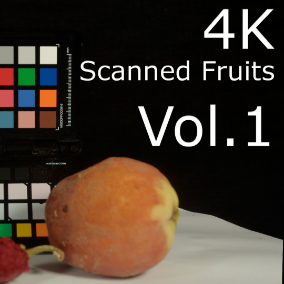 HQ Photogrammetry Fruits and Vegetables