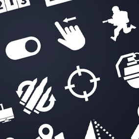 Asset is contains 680 icons with many different themes that will suit most games and applications. Icons with a clean and minimalistic style will improve any app ux.
