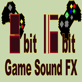 8bit 16bit SoundFX GamePack 560 samples (For 8 and 16 bit platformers)