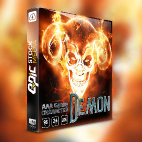 Game Character Demon is a robust vocal sound effects bank that brings rich and dynamic game ready voice audio assets.