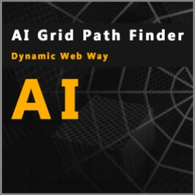 A customizable realtime path grid generator for the movement of bots or displaying a short path to the goal in hints, or for use for any other purposes, and a queue manager for getting the path