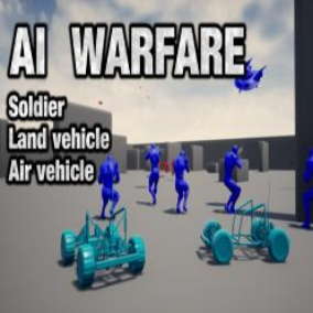 AI Warfare is a powerful plug-and-play, highly customizable, and easy to add AI Behavior system 100% Blueprint for characters/Land vehicles/Air vehicles.