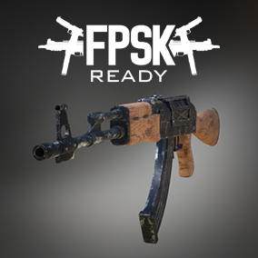 FPSK Ready AK-47 model and animations.