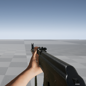 AK47 FPS Rifle with Addons, 4k Textures, Animations, Sounds, Muzzle Flashes and Free Hands