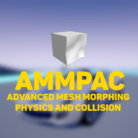 AMMPAC allows developer to manage mesh morphing and physics more easily and in a more advanced way. For example creating realistic car game is a breeze with AMMPAC!