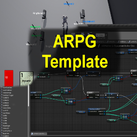ARPG template, Single player