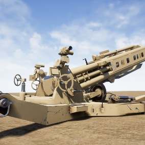 This is an artillery blueprint with sound and explosion effect.