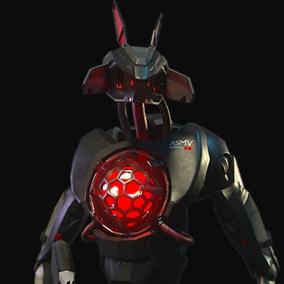 ASMV-Bot with Plasma Gun