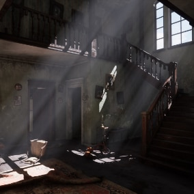 Asset set of Abandoned House. INTERIOR ONLY