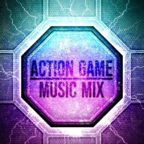 Dynamic and powerful action tracks with electronic and industrial elements.