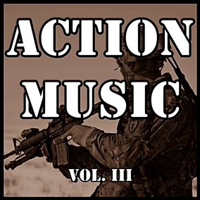 The Action Music Vol. III pack focuses on epic orchestral music worthy of the biggest blockbuster war games and films.
