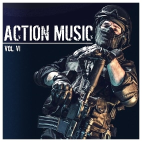 This pack focuses on electronic music for action games with strong tactical and stealth elements.