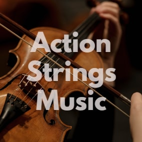 """""""Action Strings Music"""" - 19 Different Action Strings Music Tracks."""