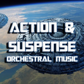 Eighteen orchestral action and suspenseful music tracks for your action / adventure / science fiction games. Evoking a wide different range of styles from Films, Television and Video Games thrilling suspense, action and battle music.