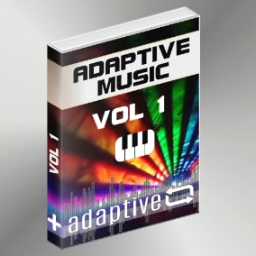 """Adaptive Music Vol 1"" are ten unique and immersive customizable soundtracks."
