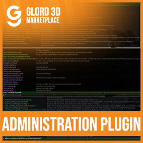 AAA quality in game/code plugin Administration menu to manage users. Glord 3D is a digital media company that sells 3D models used in 3D graphics to a variety of industries, including computer games, architecture, and interactive projects.