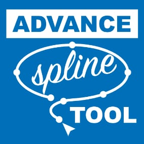 Now you can create a spline by clicking around very easily just like any other software