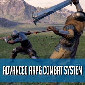 Advanced Action RPG combat system template is designed to be customizable with fast paced action & fluid combat