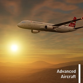 Animate your game sky with highly detailed airliners!