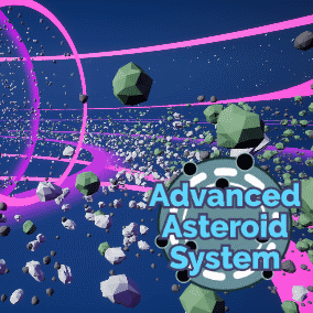 Advanced asteroid belt generation system. Uses Instanced Meshes and has an Actor Swapping System.