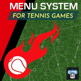 Tennis Game Style - Advanced HUD System