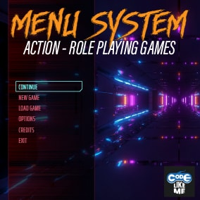 Action RPG Style - Advanced HUD System