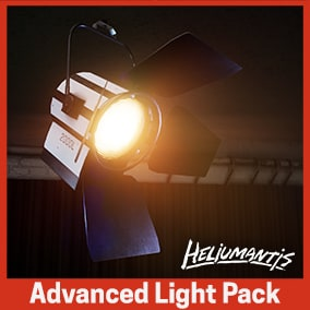 Interactive and ready to use blueprint lights to easily light up your scenes.