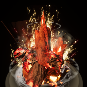 This package has BurntRock ,bubble ,shootingStar ,ice and others effects.