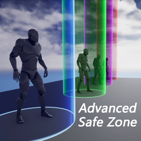 This is an advanced safe zone system for your games.