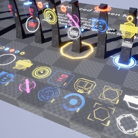 Advanced Screen Material Pack 3 / AI SOURCES