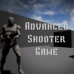 Advanced Shooter Game that includes many functions, such as a save system, hunger, thirst, stamina, loot system, bleeding, basic enemy, etc.