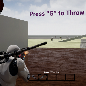 Third Person Shooter Pack with a focus on smooth and very realistic movement and Weapon handling through a variety of adjustable rotation offsets. Also, this TPS Kit contains very realistic Blood Splash effects and a professional dynamic crosshair.