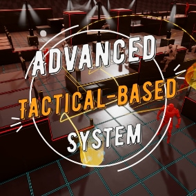 Tactical-base prototype with full free movement and dynamic cover system in real-time