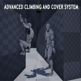 Third person cover and climb system with linetraces (no boxes or lines needed to use)