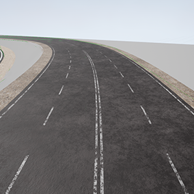 Materials and instances for making easy customizable roads