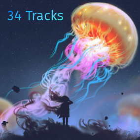 This package contains 34 seamlessly looping audio tracks perfectly suited for adventure games.