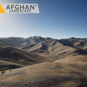 This content includes highly detailed 64 km2 (8x8 km) Afghan landscape.