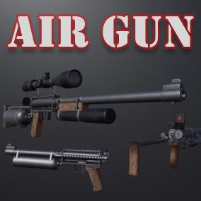 Powerful homemade air gun.