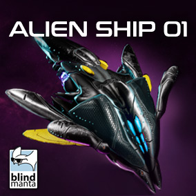 Two high quality ships, ready to be implemented in your game. Optimized for high frame rates, color customization, and FX.