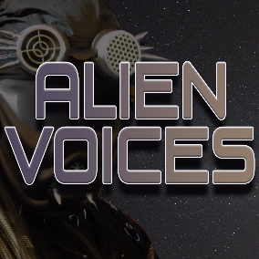 66 effect sounds for alien voices featuring 7 different characters.