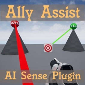 An easy to use AI Sense letting you flag allies to help and enemies to attack.