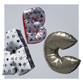 Decorate your environment with these balloons and pillows.