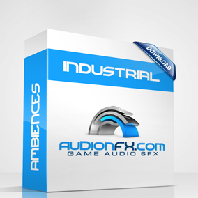 Ambiences Industrial V1. 15 Ambience background loops
