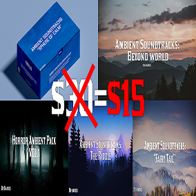 50 high quality soundtracks in 1 pack